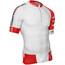 Compressport Trail Running V2 Hardloopshirt korte mouwen Heren rood/wit